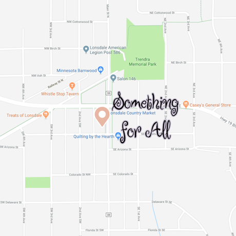 Something For All is located at 135 Main Street South in Lonsdale, Minnesota